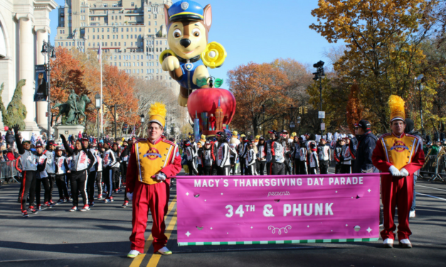 #THROWBACK! 1 Week Ago Today – 91st Annual Macy's Thanksgiving Day Parade