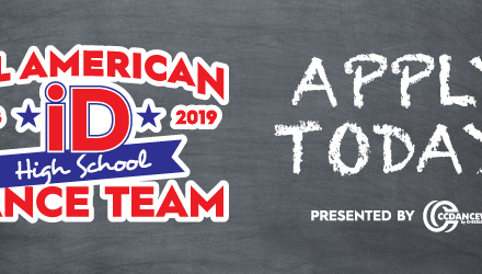Apply Today for the 2018-2019 iD High School All-American Dance Team