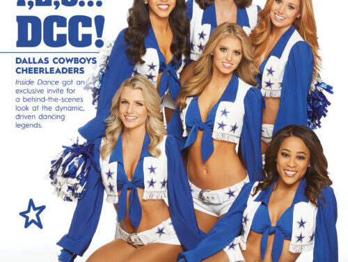 1,2,3… DCC!!! Dallas Cowboys Cheerleaders Featured in Inside Dance!