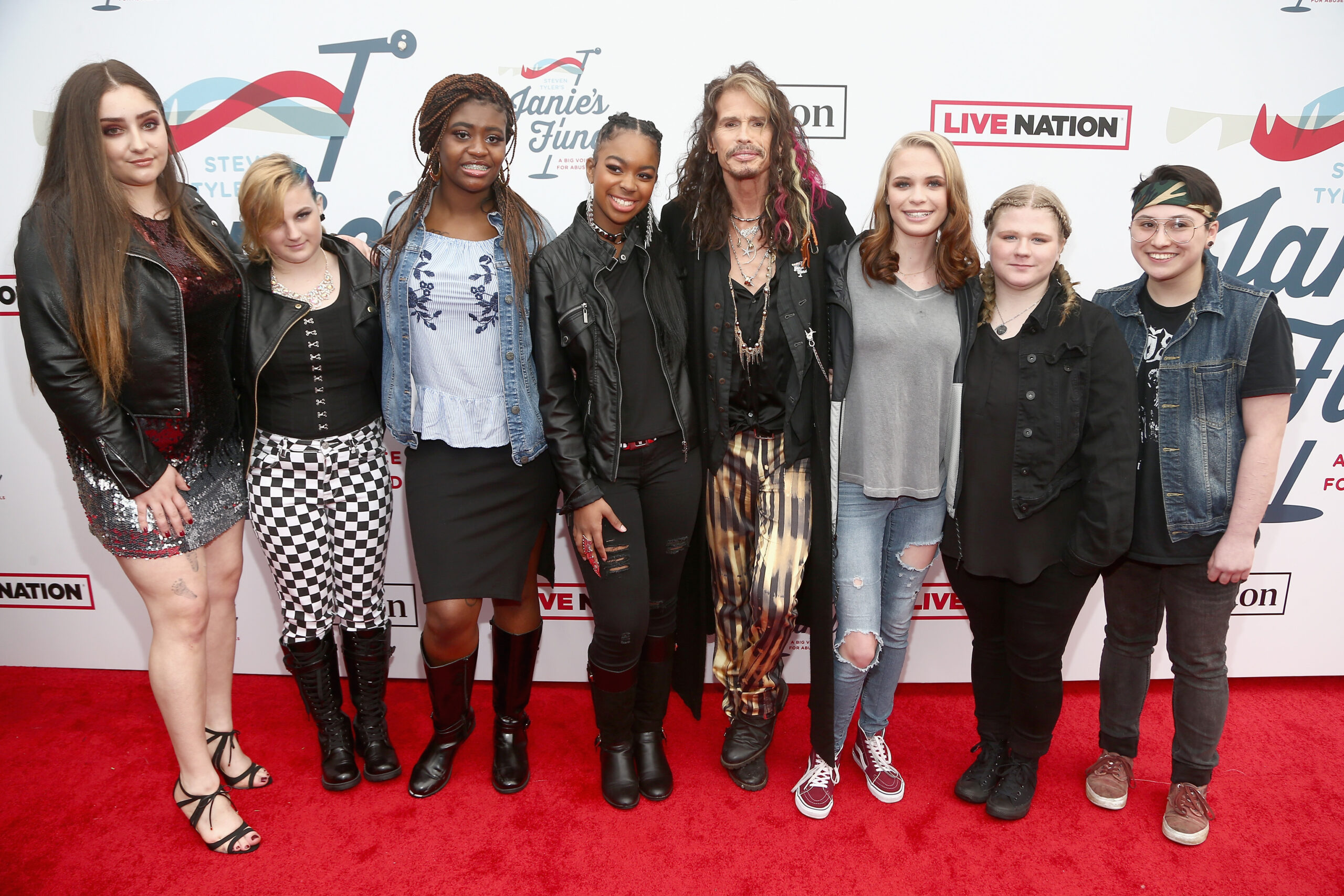Pastry and Steven Tyler's Janie's Fund Launch Movement to Empower Girls